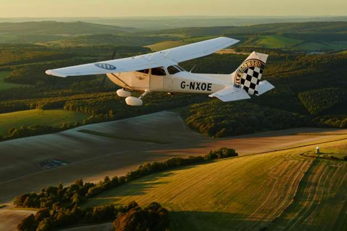 Make 2019 the year you get your wings: Learn to fly at Goodwood