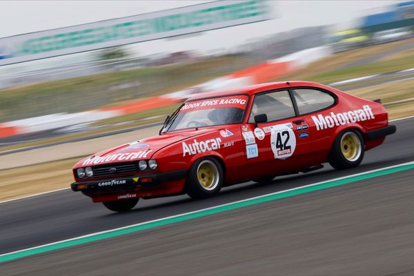 Spicing up 50 years of the Ford Capri at Silverstone Classic