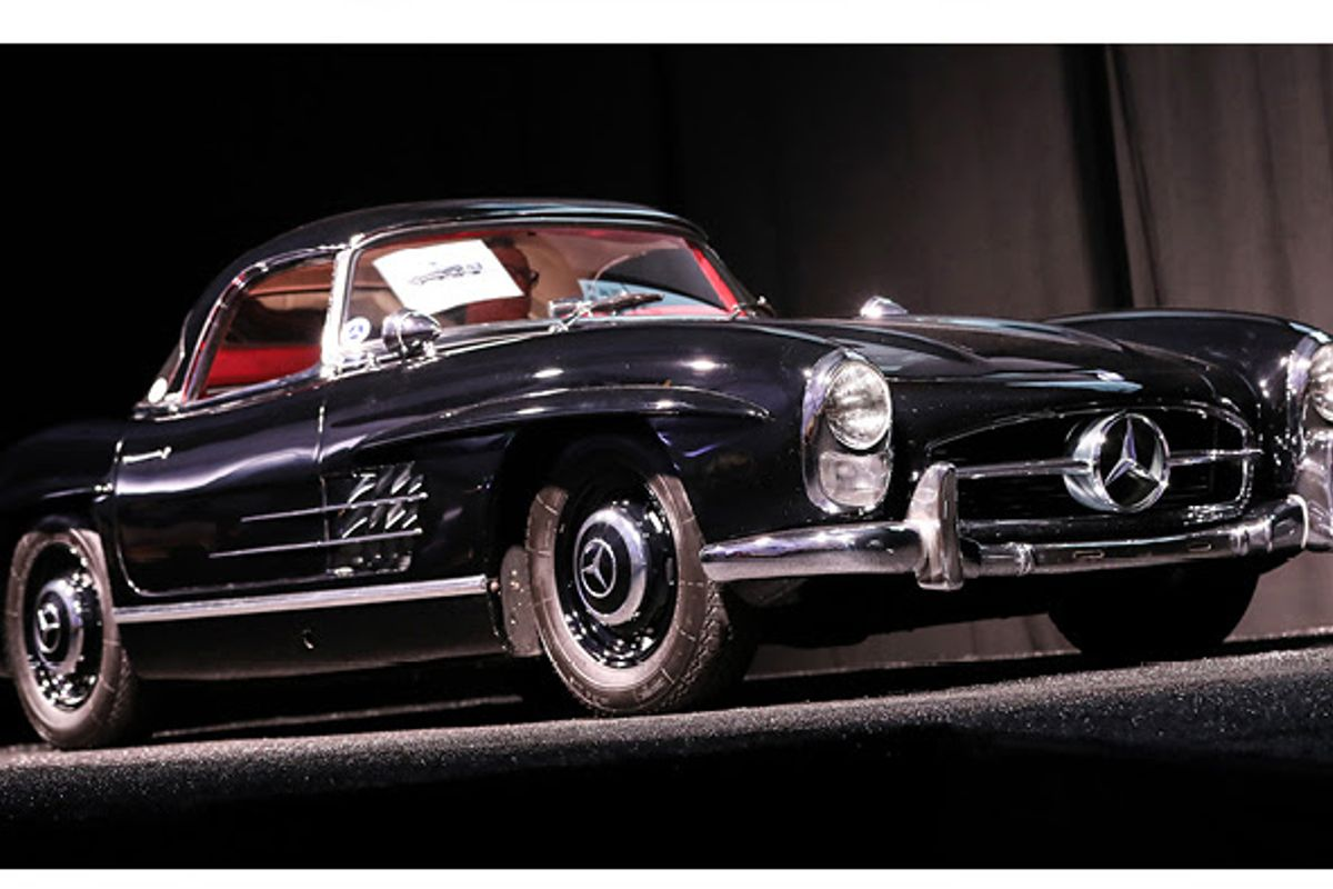 1959 Mercedes-Benz 300SL Roadster realizes $990,000 at Worldwide's Scottsdale Auction,