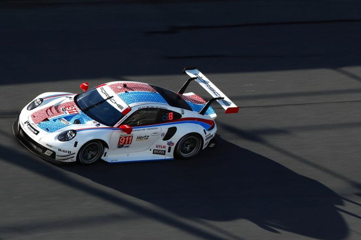 Tandy Sets GTLM Track Record as Porsche Goes for 70th Rolex 24 Win