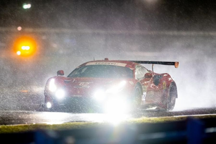 Risi Competizione finishes second at Rolex 24 GTLM