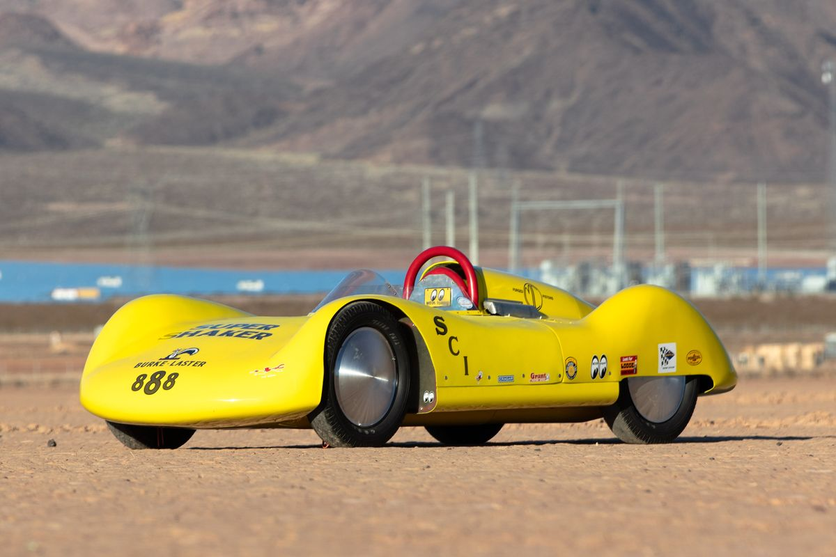 1959 Bonneville Streamliner Super Shaker; A shiny little bomb of immense potential