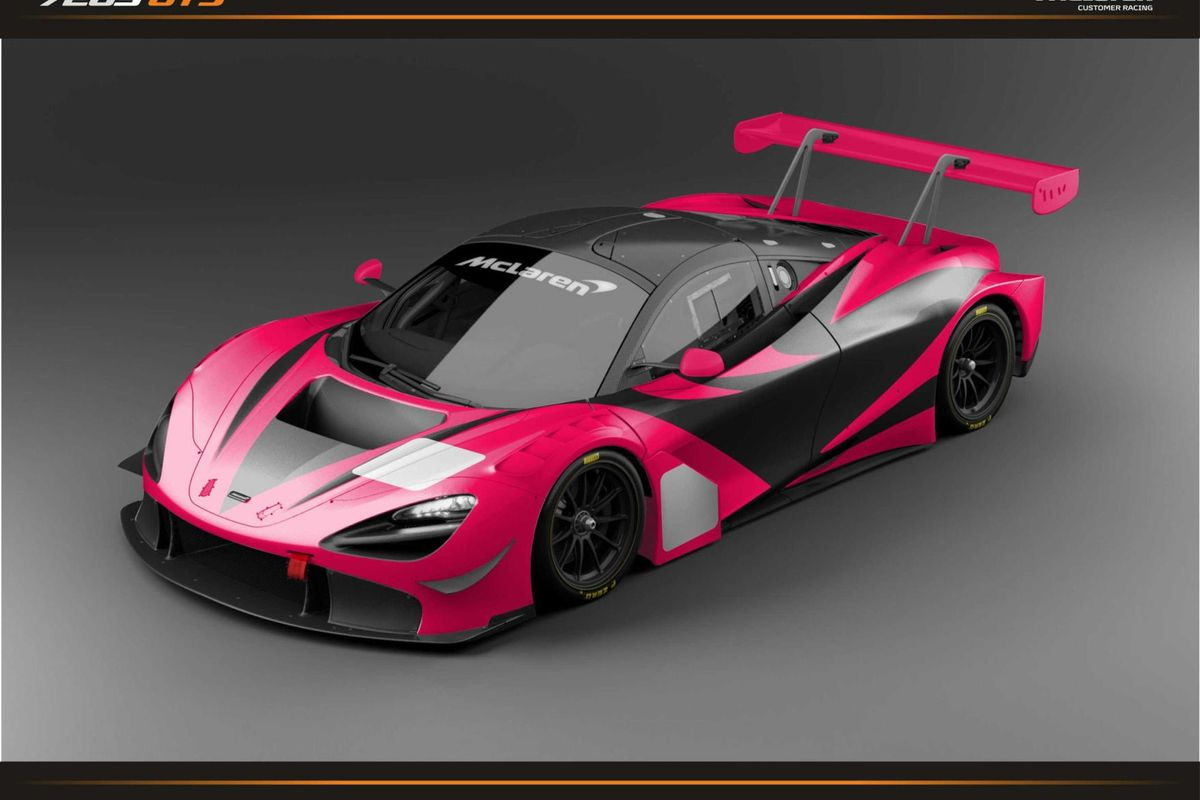 New McLaren 720S GT3 entry confirmed for Super GT300 championship & Super Taikyu Series