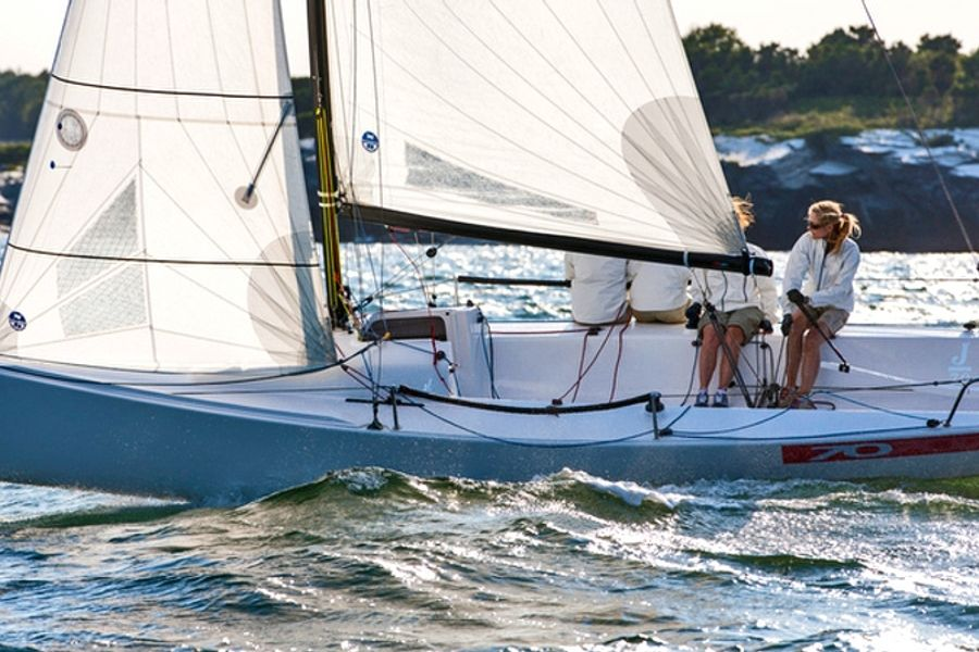 J/70: World's Fastest Growing One Design, easier to trailer, rig and ramp launch