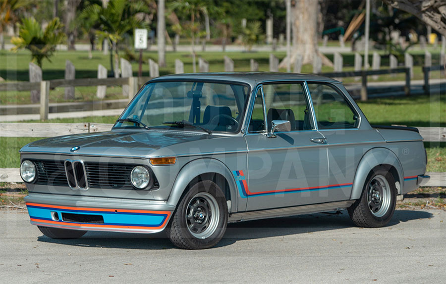 1974 Bmw 2002 Turbo To Cross The Block At Gooding S Amelia Island Auction Historic And Market News Racecar Creative Digital Solutions