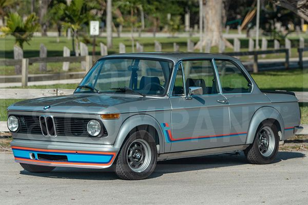 1974 BMW 2002 Turbo to cross the block at Gooding's Amelia Island Auction