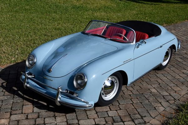 1958 Porsche 356 A Speedster at Amelia Island Auction