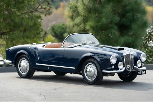 Outstanding 1955 Lancia B24S Spider America on offer at Gooding's Amelia Island Sale
