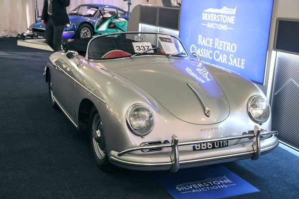1958 Porsche 356 A Speedster, 1972 Ferrari Dino 246GT headline Race Retro Auction results