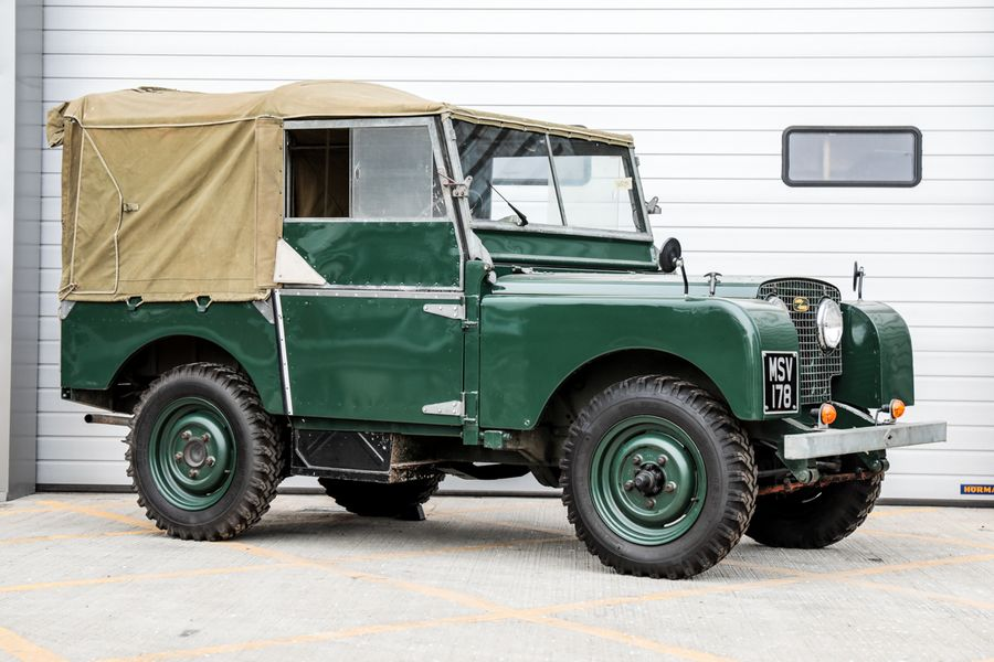 Series 1 Land Rovers to go under the hammer at CCA