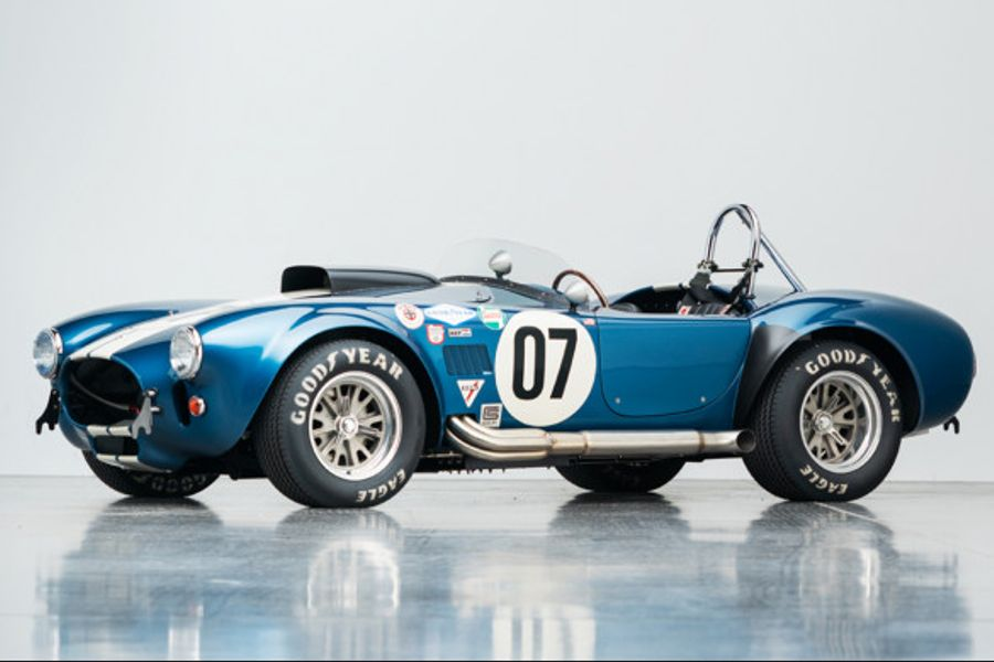 "1965 Shelby Cobra 427 R: 1 of 2 ""R"" Specification CSX4000-Series Cars"
