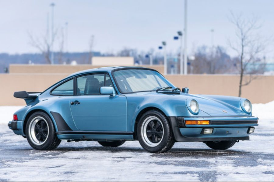Wonderfully Original and Preserved 3.3 Turbo: 1986 Porsche 930 on offer at Amelia Island
