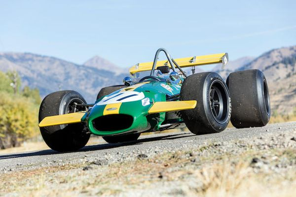 Ex-Jochen Rindt/Jacky Ickx 3-Liter Brabham-Cosworth BT26/BT26A Sold for US$1,105,000, auction results
