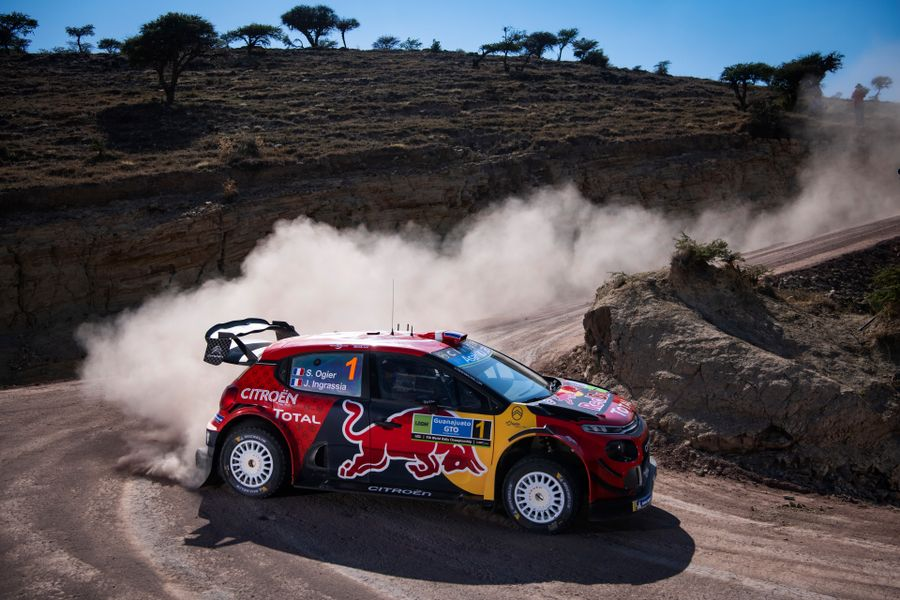 Ogier leads the way after drama filled Friday on Rally Mexico