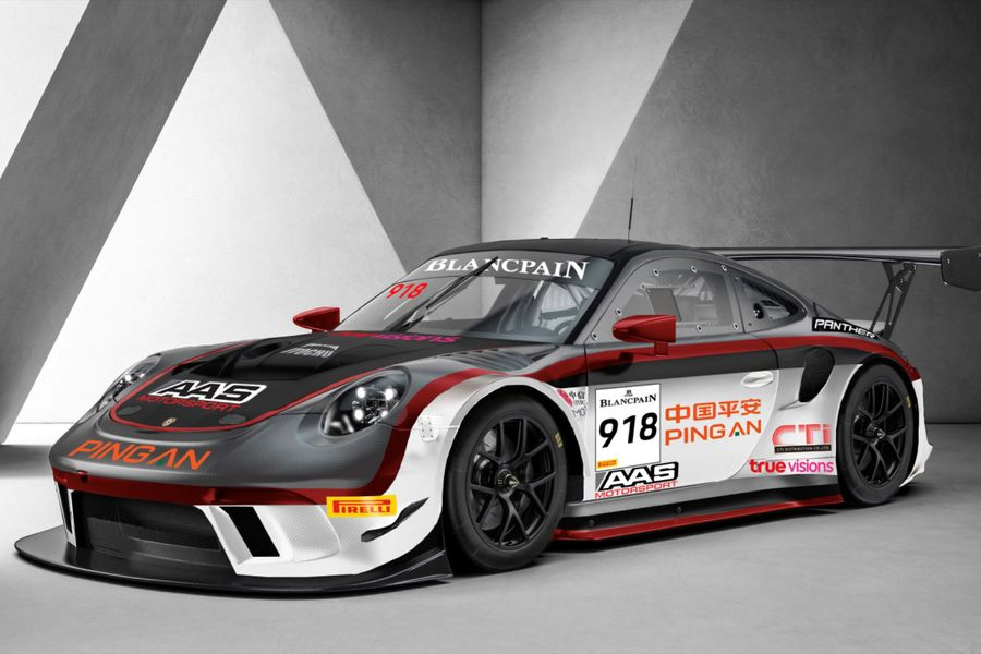 Absolute Racing and Panther AAS join forces for Blancpain GT World Challenge Asia