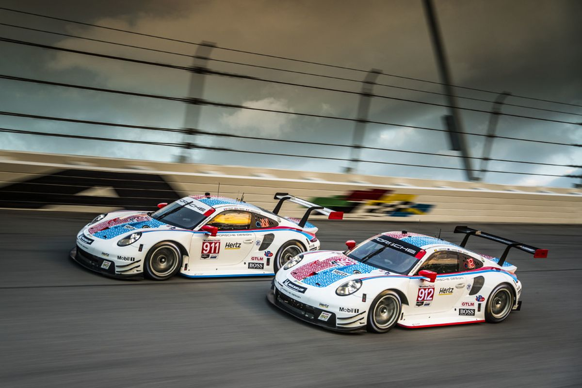 Porsche at the WEC and IMSA long-distance races in Sebring/USA