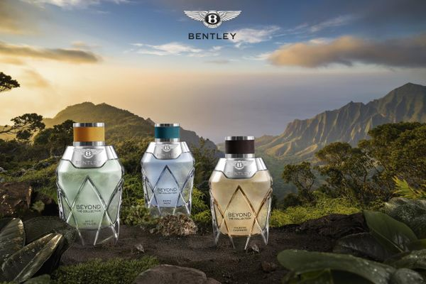 Bentley launches a new collection of three exclusive fragrances