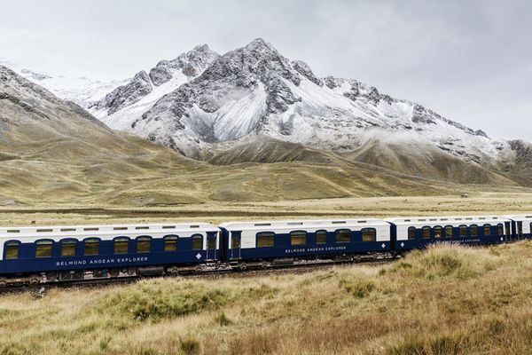All aboard for the Andes; the Belmond Andean Explorer
