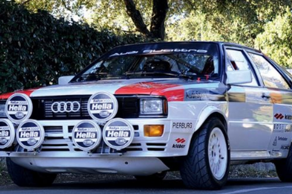 1981 Audi Quattro  gr4 FIA technical passport until 2026 at Aguttes
