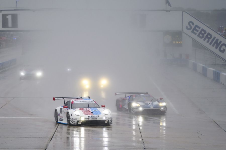 Porsche Continues Sebring GTLM Dominance, Scores 96th Career Win At Track