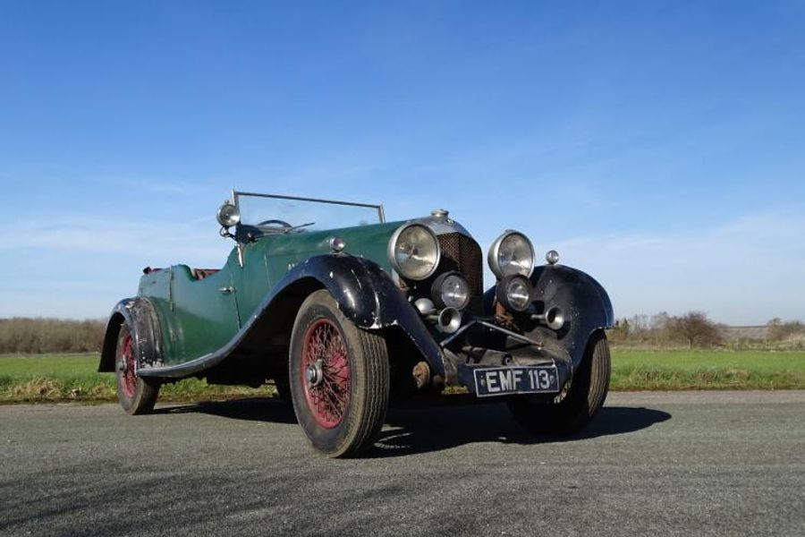 1936 Bentley 4.5 Litre Vanden Plas Tourer on offer at H&H Spring Sale