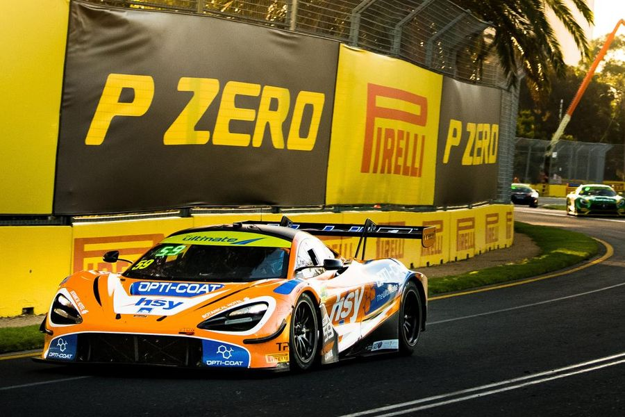59Racing secures historic first-ever pole positon and race win for the McLaren 720S GT3