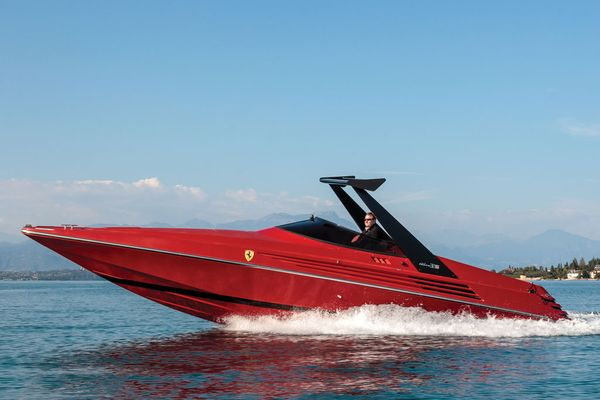 1990 Riva Ferrari 32 on offer at RM Sothebys Fort Lauderdale auction
