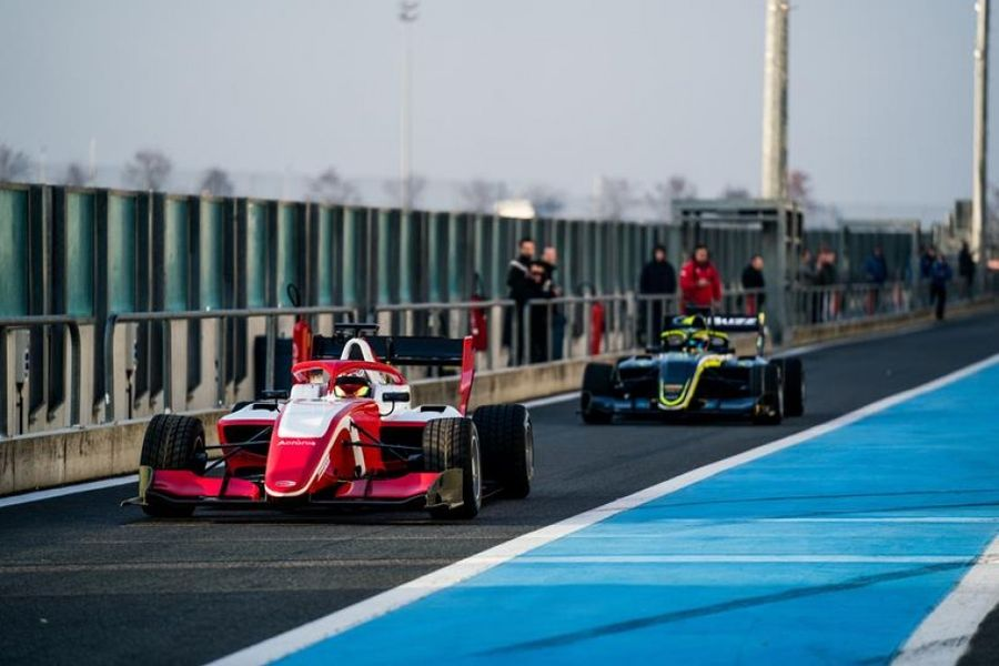 FIA F3 kicks off in France with first pre-season two-day test