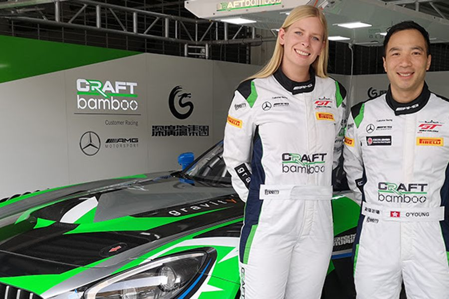 Blancpain GT World Challenge Asia: Nielsen and O'Young team up for Craft-Bamboo and Mercedes-AMG