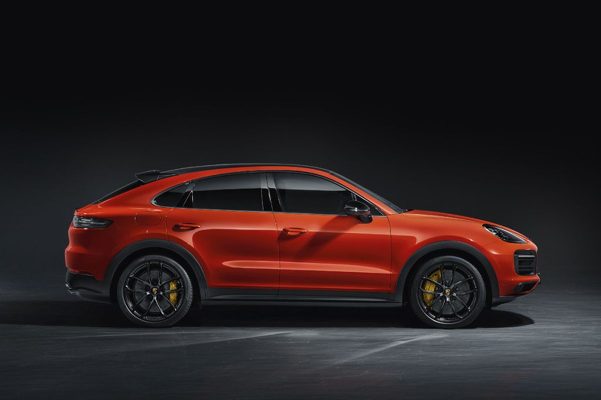 Purposeful and elegant: The new Porsche Cayenne Coupé