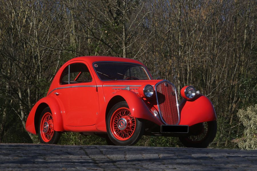 Fiat Mille Miglia 508 CS Balilla Aerodinamica sells for €200 900 at Aguttes, results