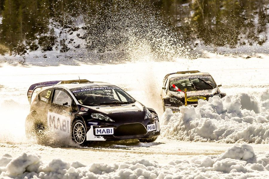 Eriksson takes the title as history is made at RallyX on Ice