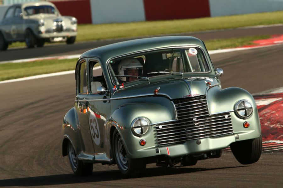 Donnington Historic Festival Grids in the Spotlight