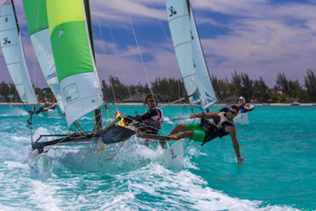Awesome sailing holiday in Mauritius, a truly magical location