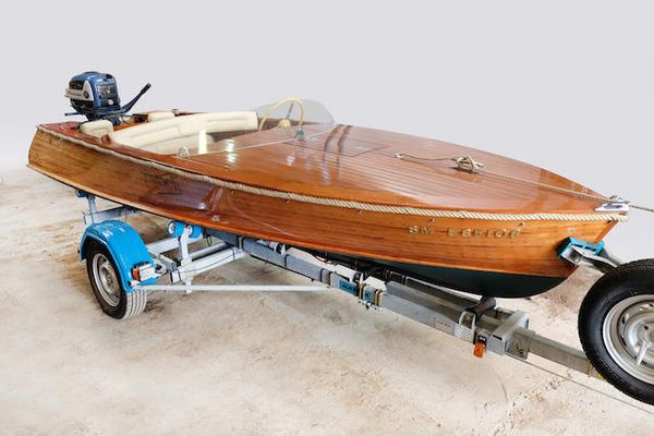 Perfect weekend for messing about in boats: 1950 Matonnat Speedboat at Bonhams