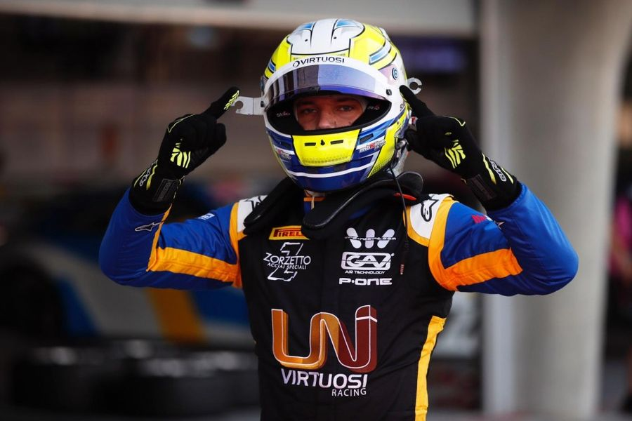 Luca Ghiotto wins F2 Race of Sakhir Sprin