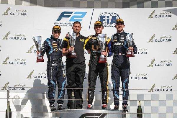 DAMS takes F2 Teams' Championship lead after winning start in Bahrain