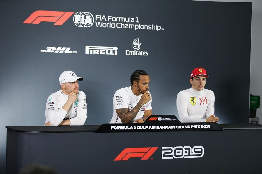Bahrain GP Winners' Conference