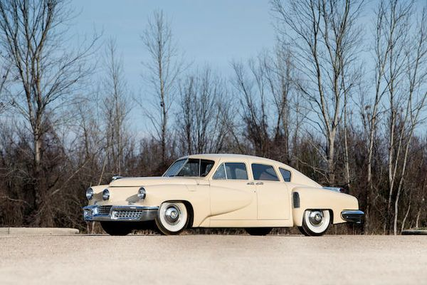Tucker 48 one of 174 vintage cars at Bonhams Tupelo  Museum closure sale