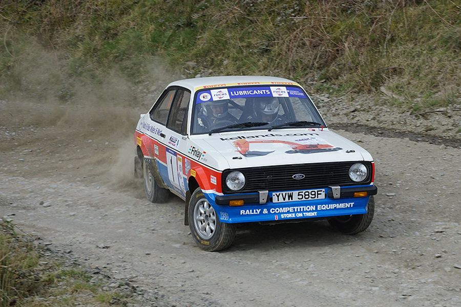 Elliott takes maximum BHRC points on Rally North Wales