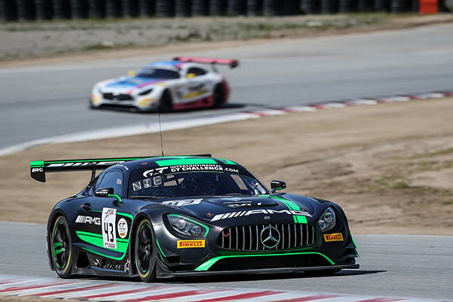 Podium Success at the California 8 Hours Gives Mercedes-AMG a double IGTC lead