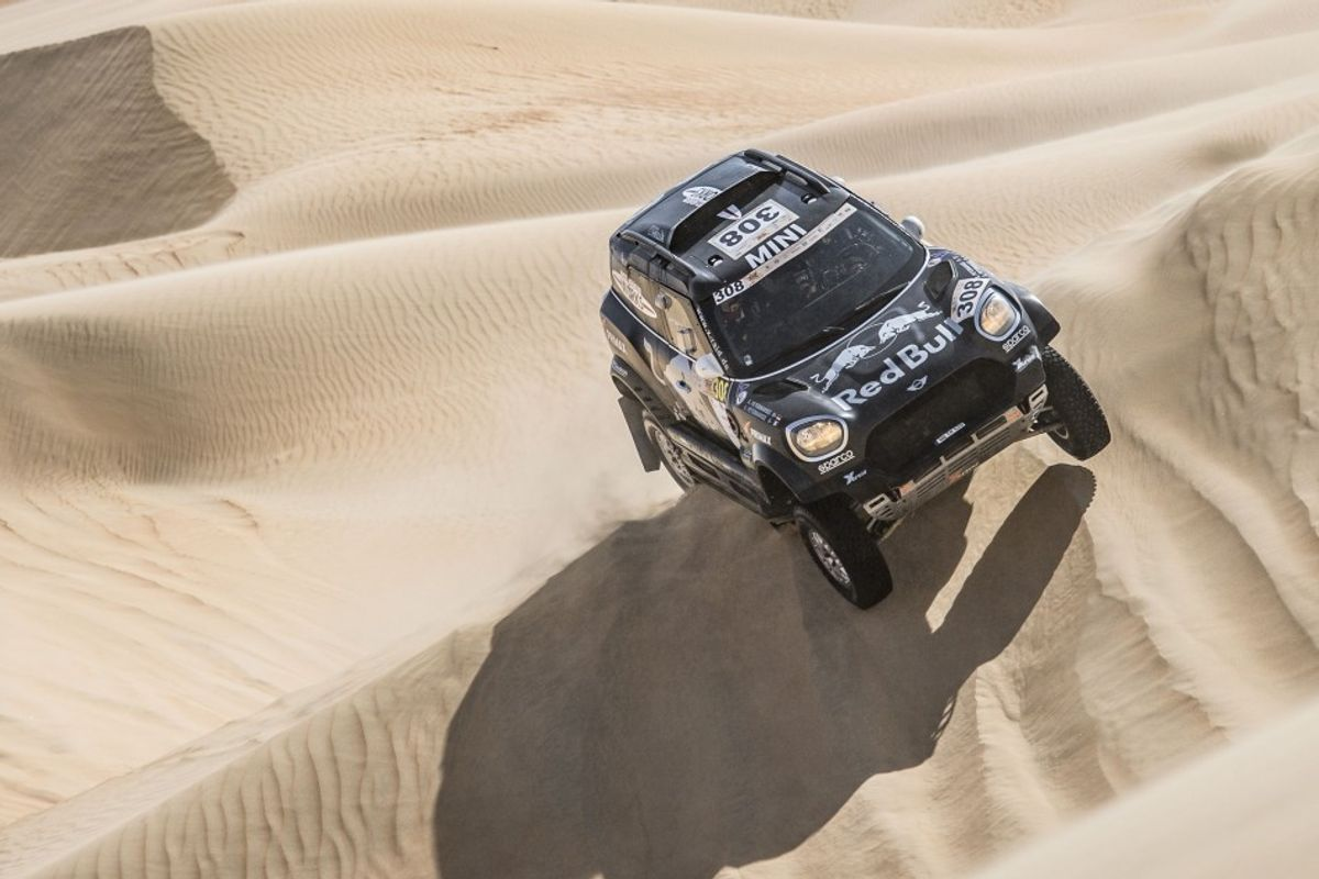 Abu Dhabi Desert Challenge: Peterhansels take control in the dunes