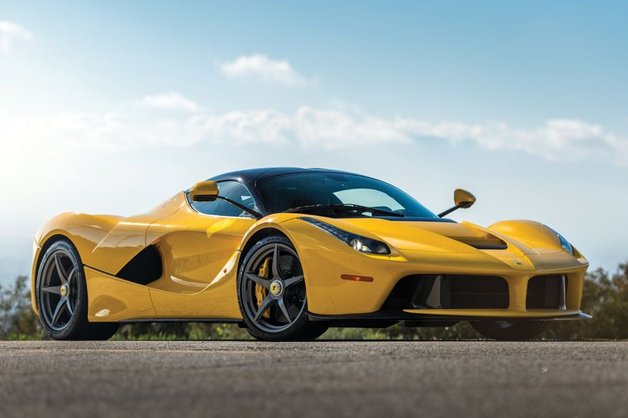 2015 Ferrari LaFerrari sells for $3,080,000 at RM Sotheby's Fort Lauderdale auction