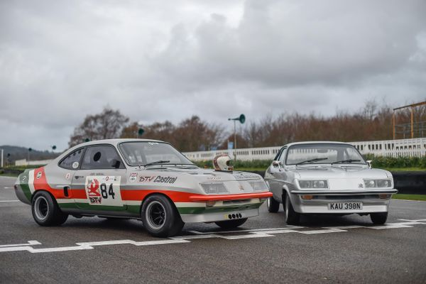 Marshall Junior reunited with iconic Vauxhalls ahead of  Goodwood auction