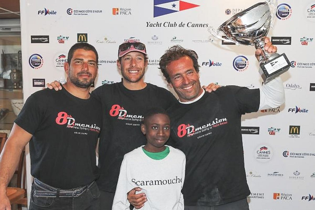Pedro Rebelo de Andrade wins Dragon Grand Prix Cannes