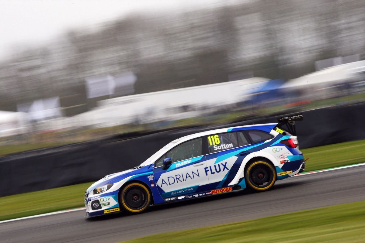 Ash Sutton storms to pole position at Brands Hatch BTCC