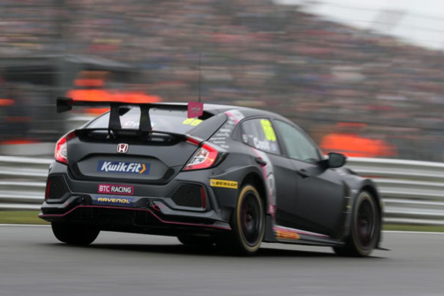Cook wins Brands BTCC opener