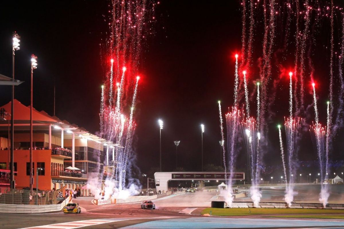Kevin Hansen wins WorldRX of Abu Dhabi