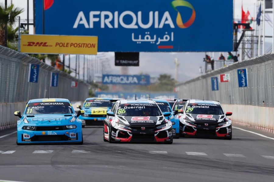 Esteban Guerrier victorious in WTCR Race of Morocco Race 1