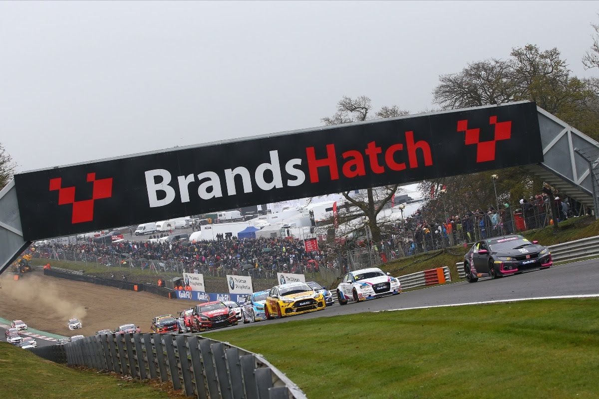 Cook, Jordan and Butcher share BTCC spoils at Brands Hatch